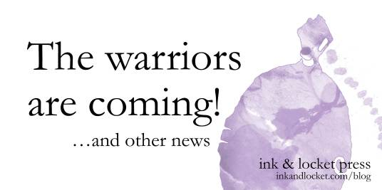 Text: The warriors are coming! (and other news)